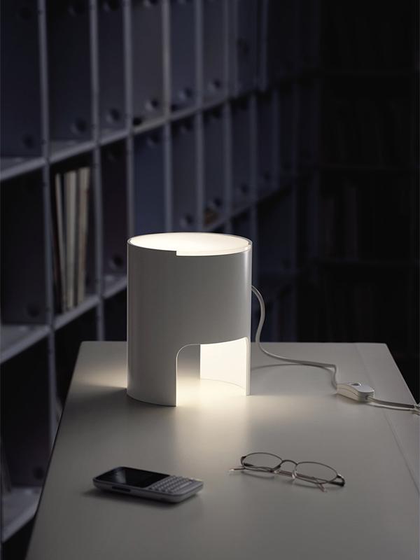 Ambiance LAMPE DE TABLE CIVETTA A DIFFUSEUR BLANC_804-BI-BI_1 martinelli luce