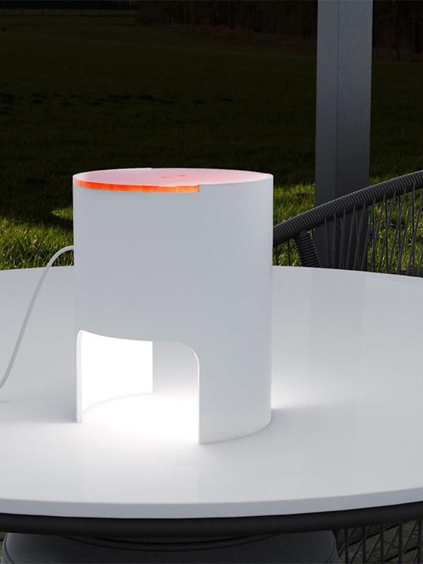 Ambiance LAMPE DE TABLE CIVETTA A DIFFUSEUR ORANGE_804-BI-AR_1 martinelli luce
