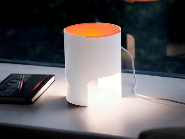 Ambiance LAMPE DE TABLE CIVETTA A DIFFUSEUR ORANGE_804-BI-AR_3 martinelli luce