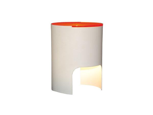 Lampe de table CIVETTA A DIFFUSEUR ORANGE_804-BI-AR martinelli luce