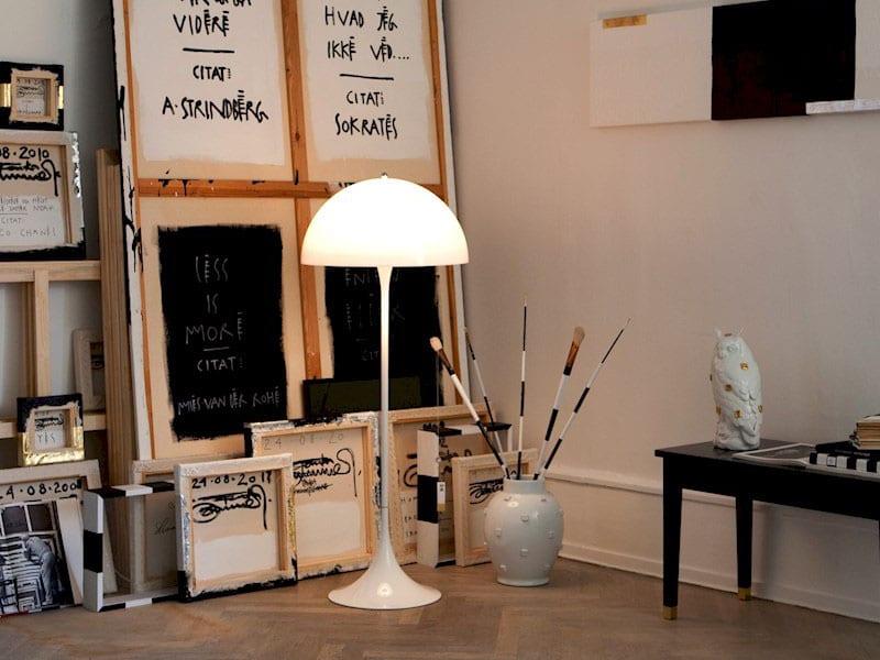 ambiance lampadaire panthella louis poulsen_1 (800x600)