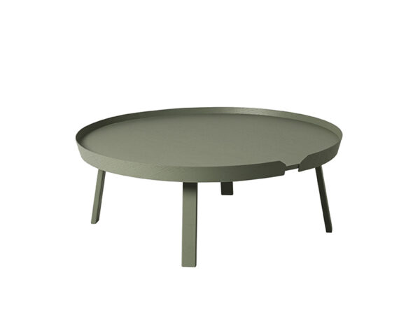 Table basse AROUND COFFEE TABLE EXTRA LARGE VERT POUSSIEREUX_21166 muuto