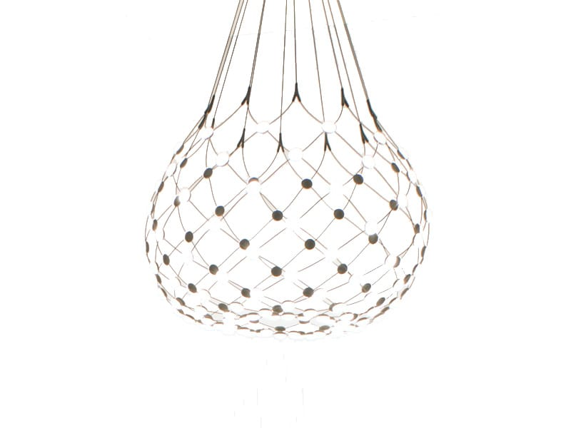 Suspension MESH Ø100 ALLUMEE_D86N luce plan