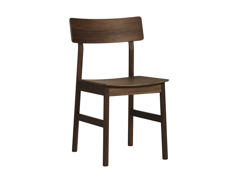 Chaise PAUSE DINING CHAIR CHENE FUME_100064 woud
