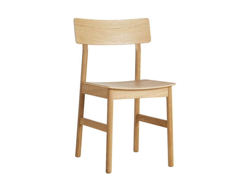 Chaise PAUSE DINING CHAIR CHENE HUILE_100068 woud