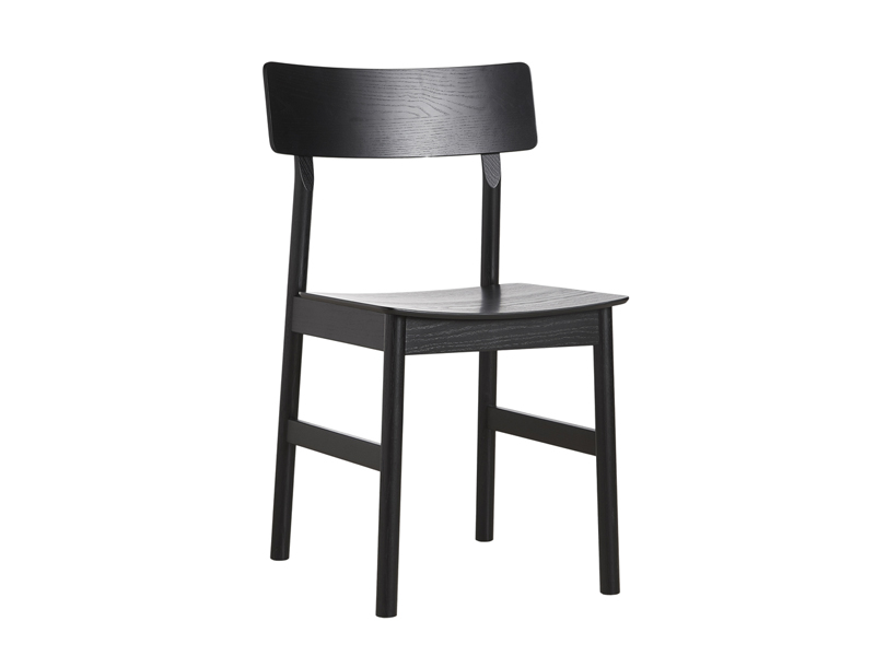 Chaise PAUSE DINING CHAIR NOIR_100066 woud