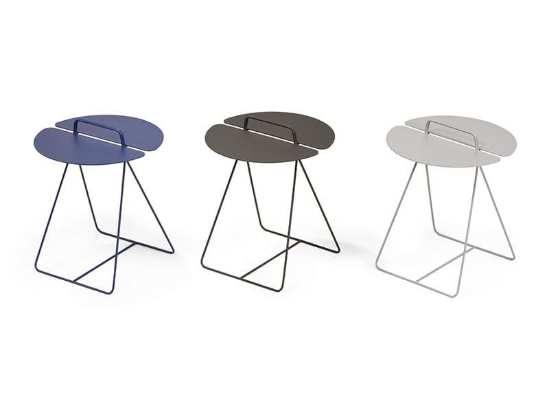 Tables d'appoint BLEU, NOIR, GRIS moome