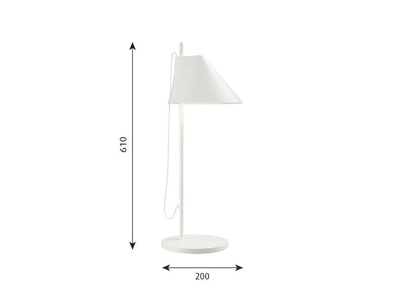 Cotations LAMPE DE TABLE YUH BLANCHE louis poulsen