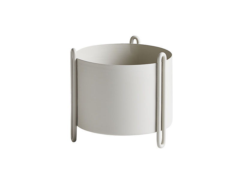 150110_Cache pot PIDESTALL SMALL GRIS woud