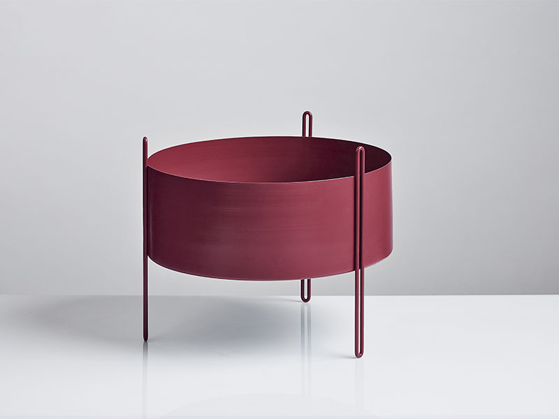 150112_Ambiance PIDESTALL MEDIUM ROUGE woud