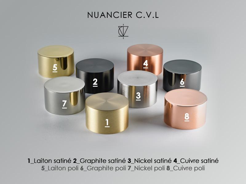 Nuancier CVL CONTRACT