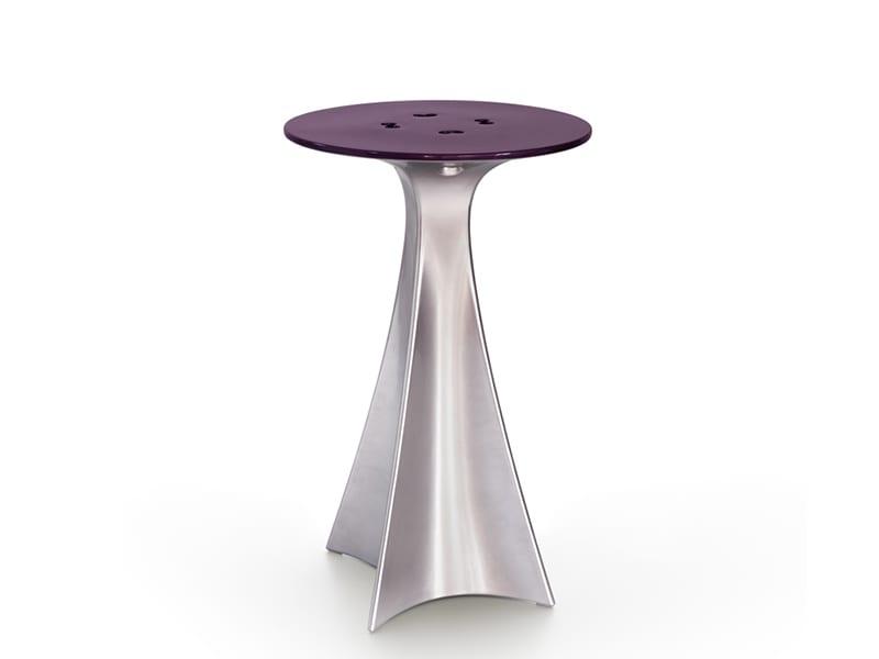 Table haute SL JEA100_JET NEXT CHROMÉ & NACRÉ_DESIGN KARIM RACHID slide