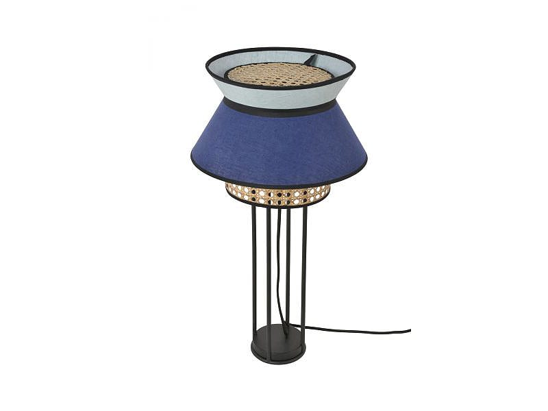 Lampe de table PR503447_SINGAPOUR INDIGO & AMANDE marketset