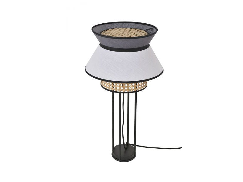 Lampe de table PR503448_SINGAPOUR BLANC & ANTHRACITE marketset