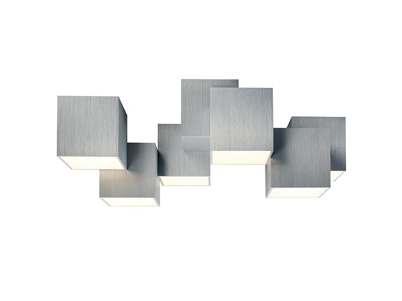 Plafonnier LED 76-853-072 ROCKS ALUMINIUM grossmann