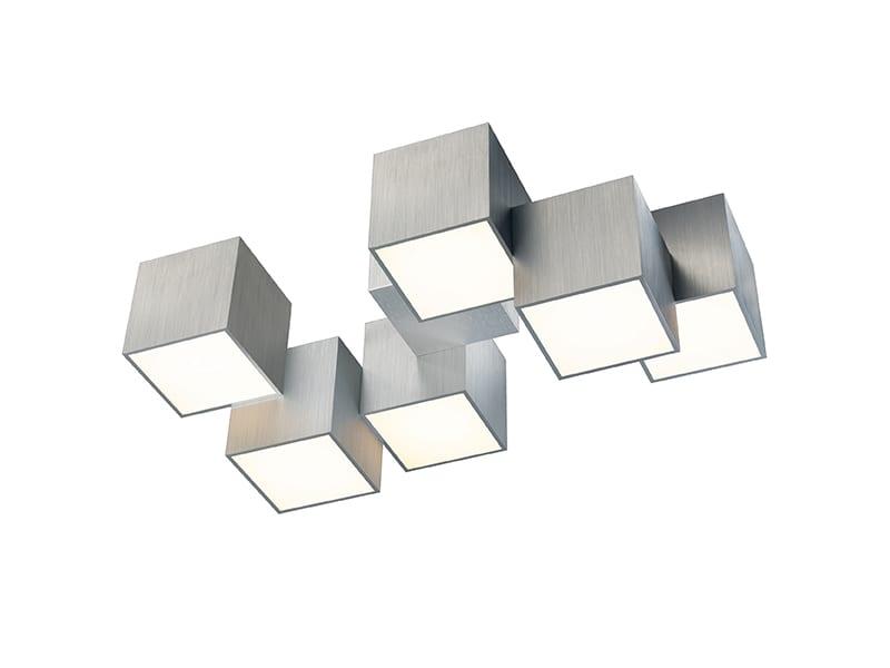 Plafonnier LED 76-853-072 ROCKS ALUMINIUM_PROFIL grossmann