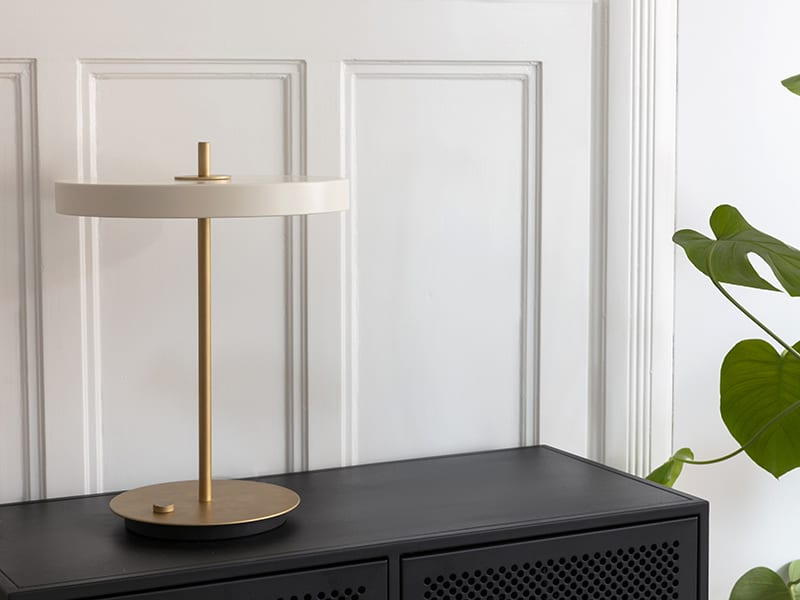 Ambiance LAMPE DE TABLE 2305 ASTERIA BLANC PERLE_2 umage