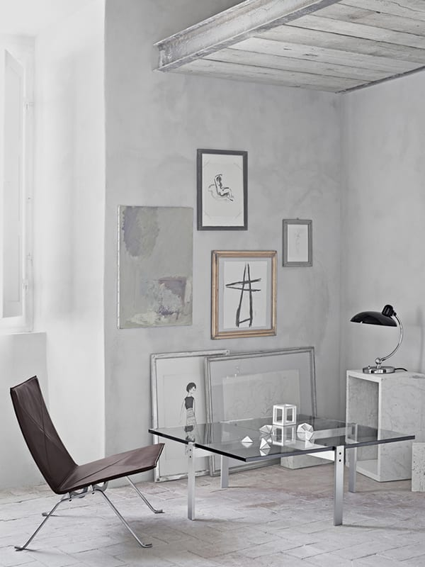 Ambiance LAMPE DE TABLE KAISER IDELL NOIR (6631-T)_1 fritz hansen