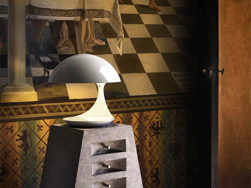 Ambiance LAMPE DE TABLE COBRA BLANC_629_3 martinelli luce