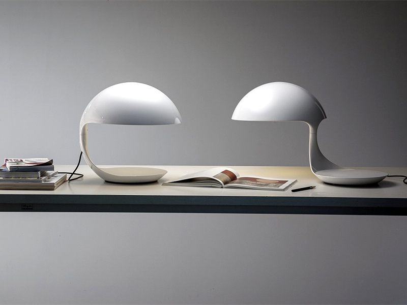 Ambiance LAMPE DE TABLE COBRA BLANC_629_5 martinelli luce