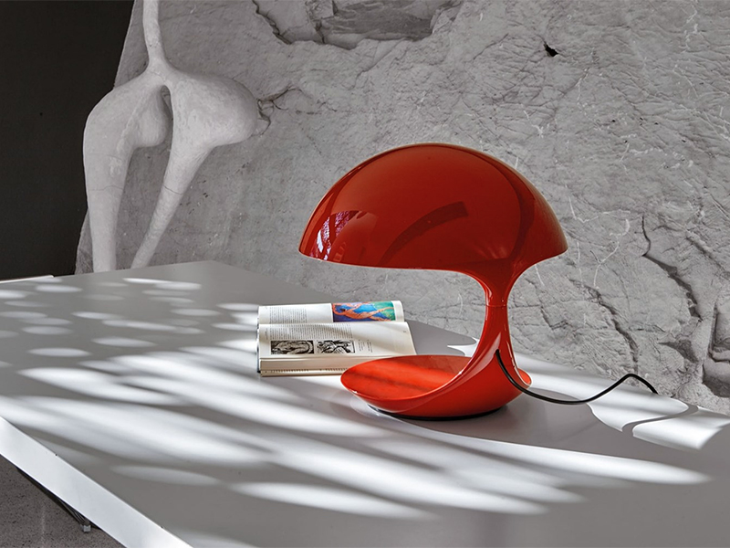 Ambiance LAMPE DE TABLE COBRA ROUGE_629-RO_1 martinelli luce
