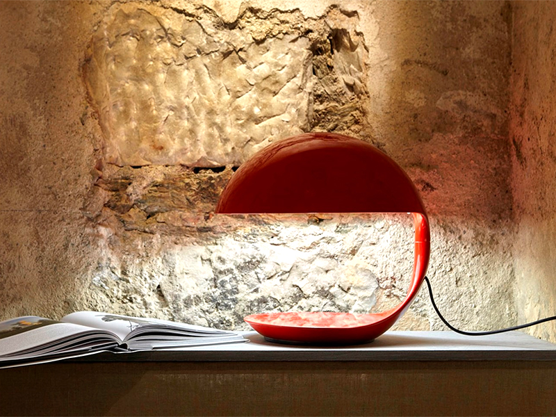 Ambiance LAMPE DE TABLE COBRA ROUGE_629-RO_3 martinelli luce