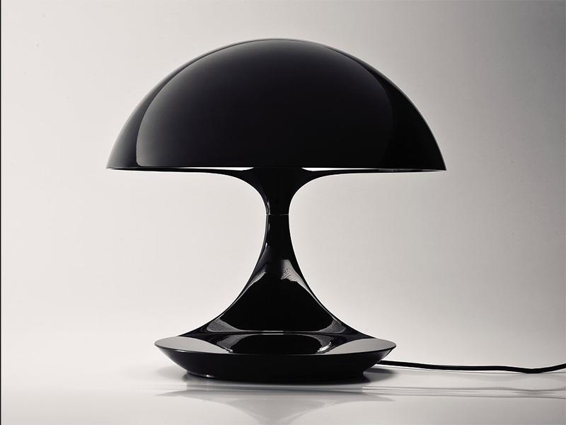 Détail LAMPE DE TABLE COBRA NOIR_629-NE_FACE martinelli luce