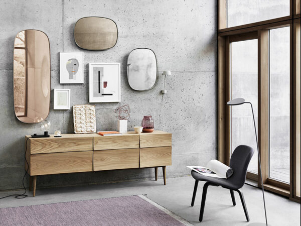 Ambiance meuble en chêne veiné REFLECT SIDEBOARD LARGE NATUREL_09170 (5) muuto