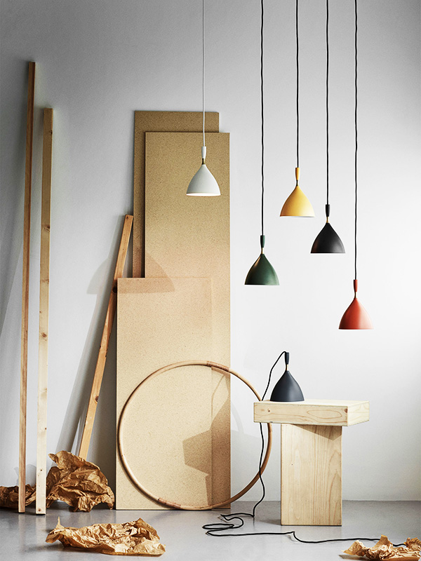 Ambiance suspensions DOKKA TOUTES COULEURS northern lighting