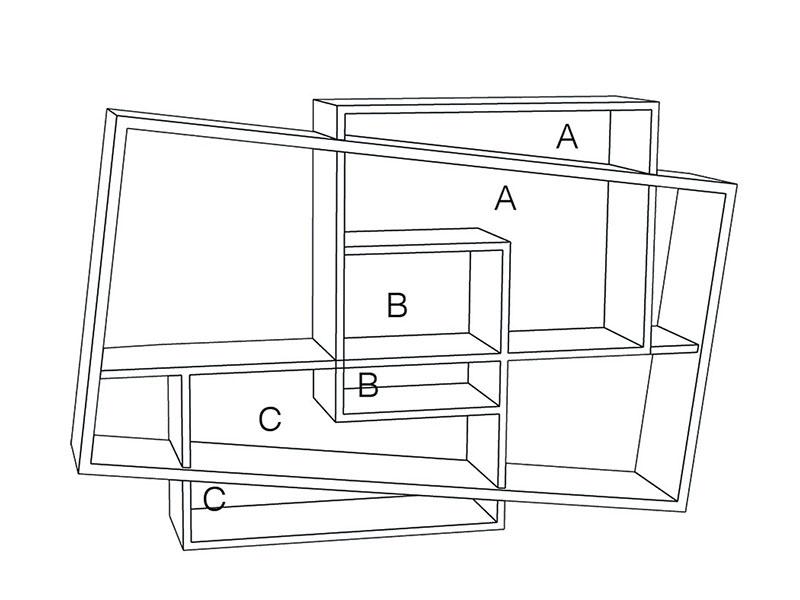 Emplacements colorimétriques console ISBOA drugeot manufacture