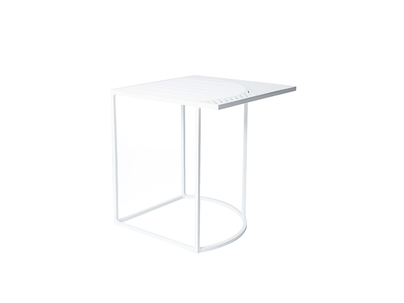 Table d'appoint ISO-B BLANC_M0390401 petite friture