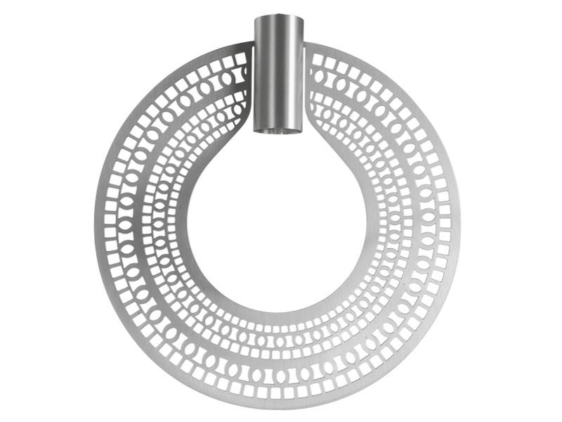 Plaque pour montures HALO_MODÈLE 310 ETHNIC NICKEL cvl manufacture