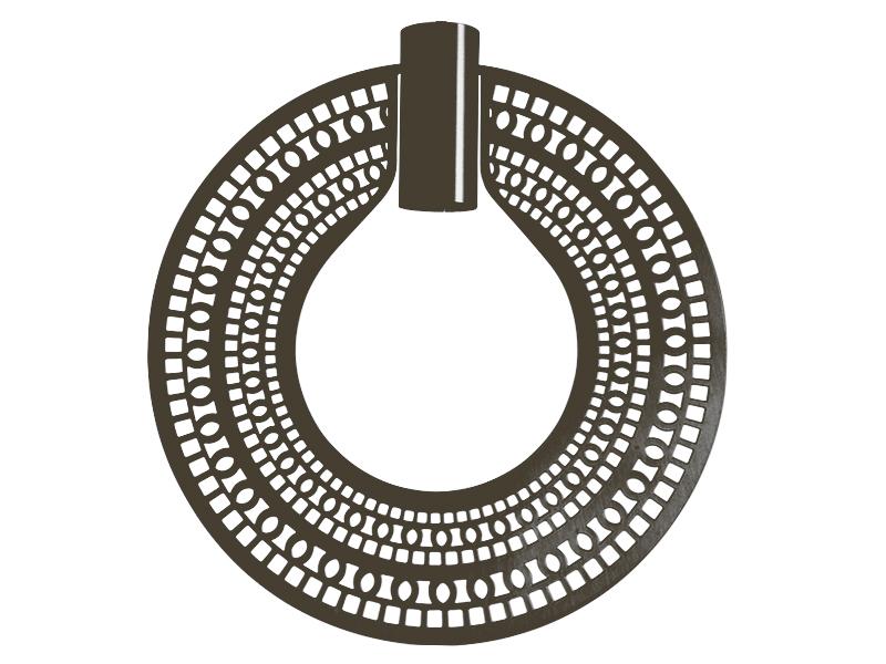Plaque pour montures HALO_MODÈLE 310 ETHNIC GRAPHITE cvl manufacture