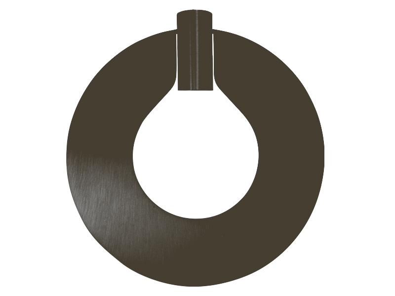 Plaque pour montures HALO_MODÈLE 310 IDEAL GRAPHITE cvl manufacture