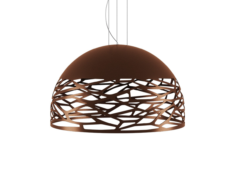 Suspension KELLY LARGE DOME BRONZE Ø 80_141010 lodes