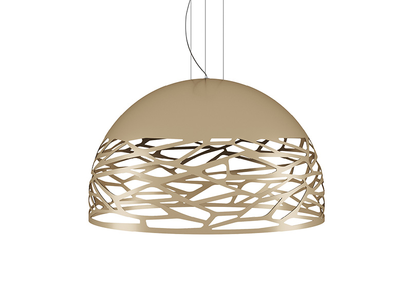 Suspension KELLY LARGE DOME CHAMPAGNE Ø 80_141021 lodes