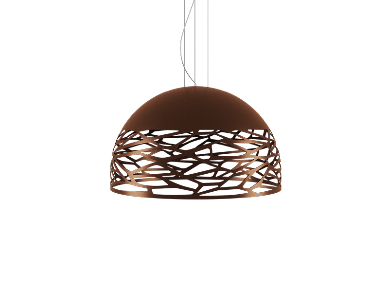 Suspension KELLY SMALL DOME BRONZE Ø 50_141009 lodes