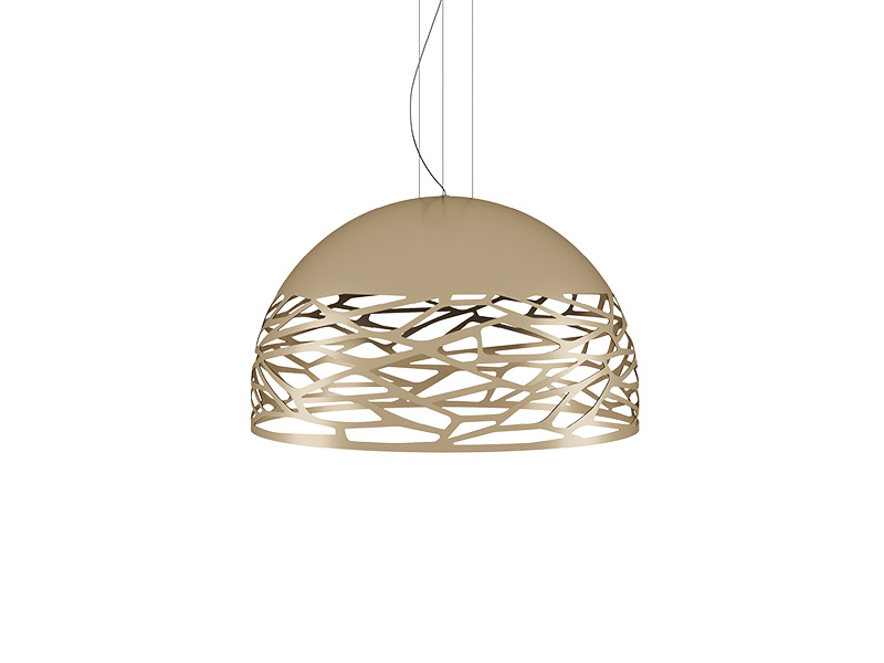 Suspension KELLY SMALL DOME CHAMPAGNE Ø 50_141019 lodes