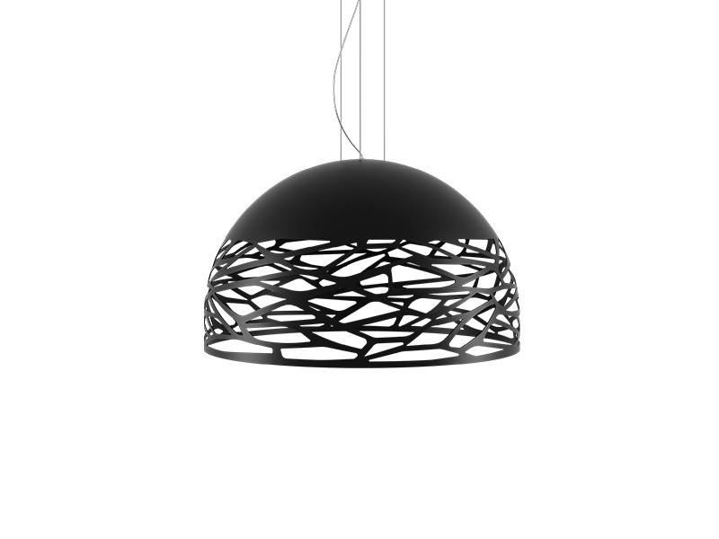 Suspension KELLY SMALL DOME NOIR Ø 50_141016 lodes