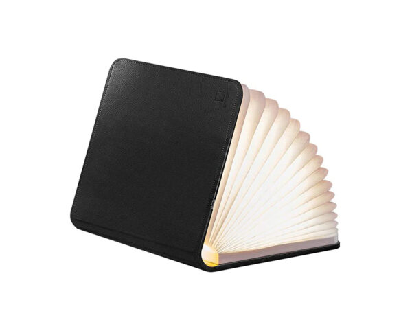 Lampe de table SMART BOOK LIGHT (LARGE BLACK LEATHER)_GK12L1 gingko