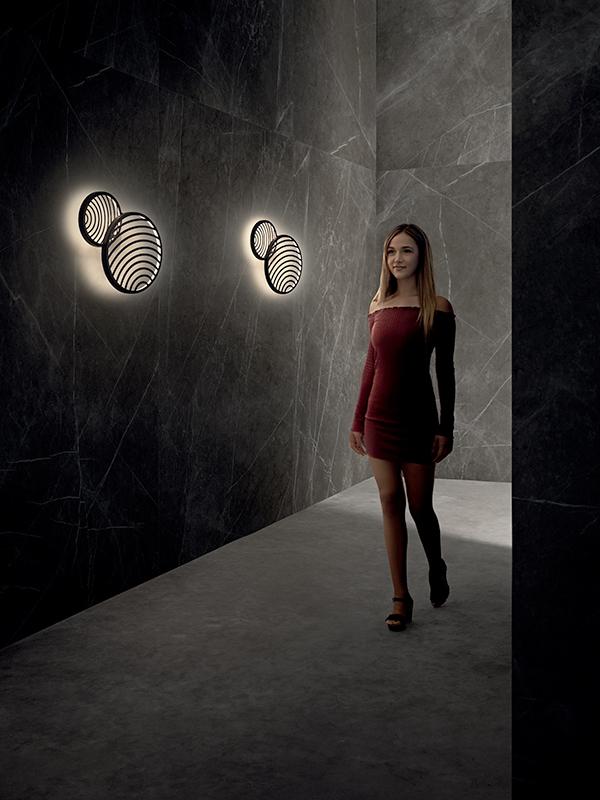 Ambiance applique COLLAGE NOIR LED 30W_7234 (1) mantra illuminacion