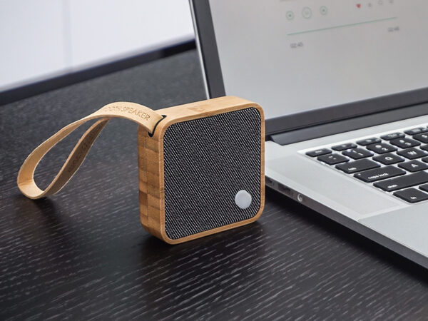 Ambiance enceinte connectée MI SQUARE SPEAKER BAMBOO_G005BA (3) gingko