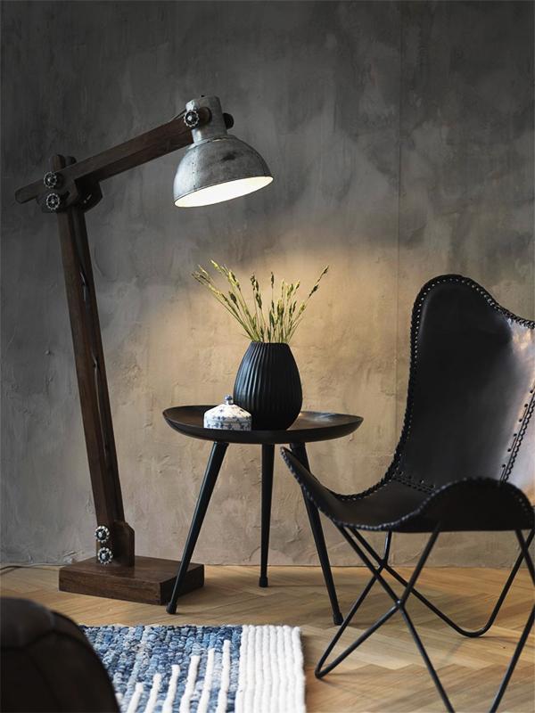 Ambiance lampadaire en bois & métal COPENHAGEN-B BRUT_FH 108 fuhrhome denmark