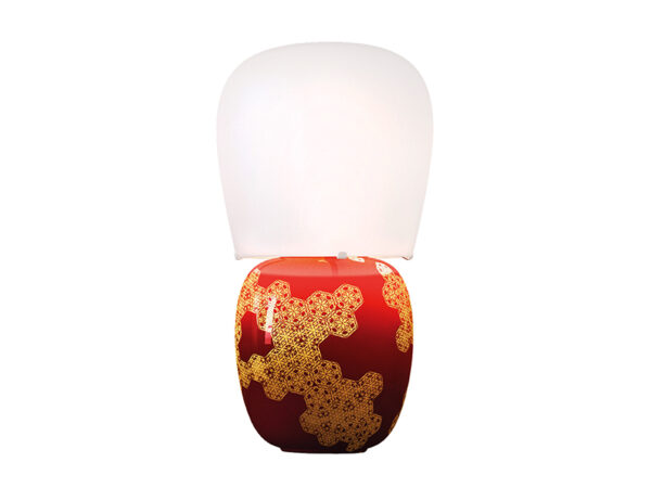 Lampe de table HIVE ROUGE_K390325R kundalini