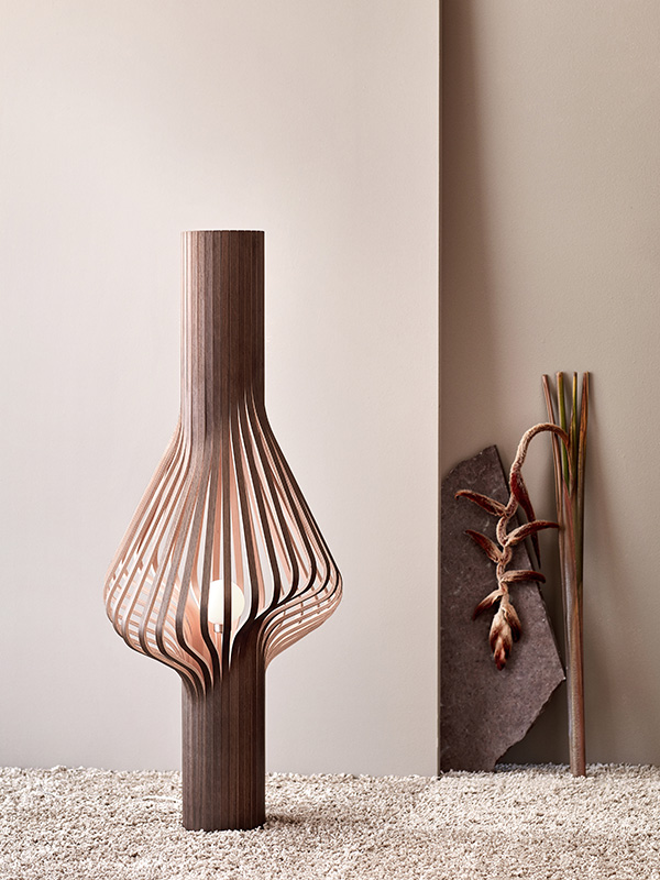 Ambiance lampadaire DIVA SMOKED OAK_372 northern lighting