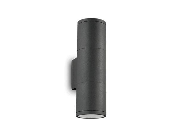 Applique cylindrique à faisceaux GUN AP2 SMALL ANTHRACITE (2X50W GU10)_236841 ideal lux