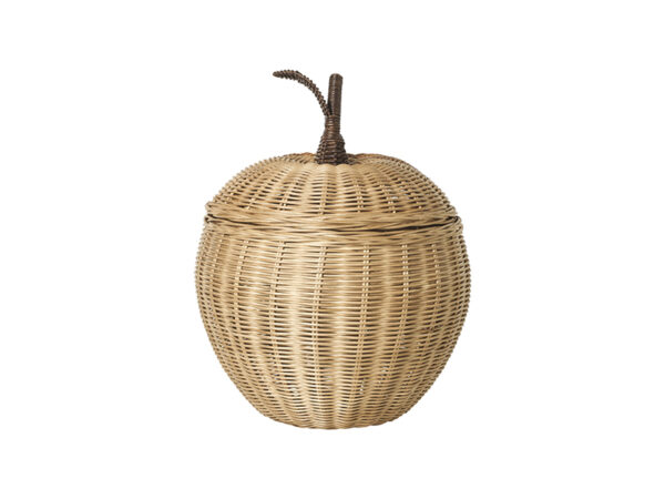 Boite de rangement APPLE BRAIDED STORAGE_100178206 ferm living