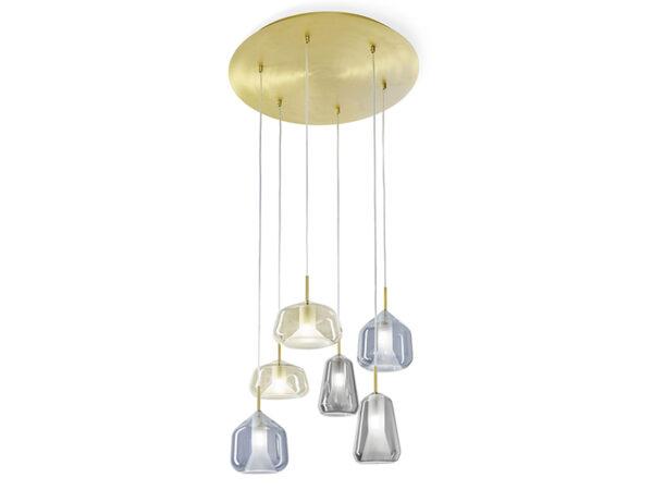 Suspension cascade 6 lampes X-RAY VERRES JAUNES, BLEUS ET GRIS_1744-M-132+1744-V-129+1744-V-128+1744-V-130 (800x600) miloox