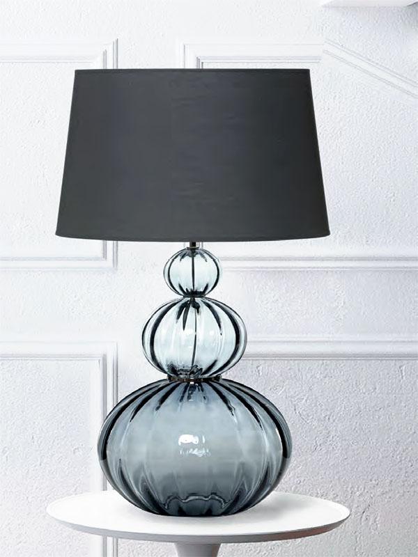 Ambiance lampe de table MOUNA GRISE_L-V0152-SK1 flam luce