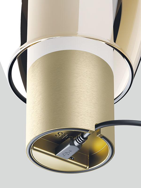Détail du port usb de charge lampe portable rechargeable EASY PEASY LAGOON_170002 lodes
